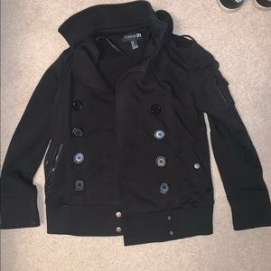 Forever 21 button up coat